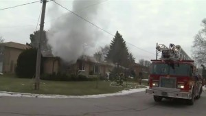 Woman killed after house fire in Toronto's north end