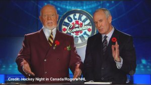 Don Cherry gets upset with his airtime on Coach's Corner
