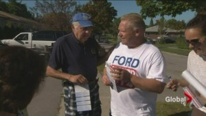 Rob Ford is back on the campaign trail despite battle with cancer