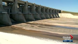 Gardiner Dam is 50 this year