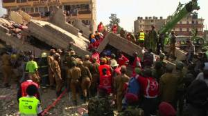 Several trapped in Kenyan building collapse