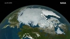 Arctic ice melting in 2016 heat: NASA