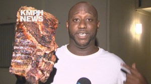 Fresno man rescues slab of BBQ ribs during late night house fire