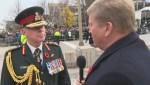 Global's Tom Clark speaks with General Jonathan Vance