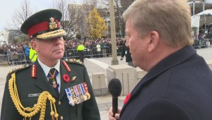 Global's Tom Clark speaks with General Jonathan Vance