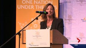 Canadian artist Sarah McLachlan brings music program to Edmonton school