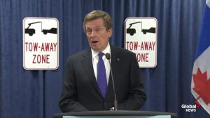Tory expands zero tolerance parking enforcement for out-of-province vehicles