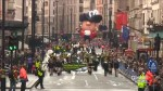 Thousands turn out for London's New Year Parade