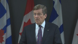 John Tory looking to change Toronto's 'laughing-stock' image