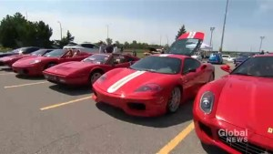 Flashy cars converge in Kirkland for annual fundraiser