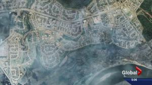 Fort McMurray wildfire: satellite maps show the damage