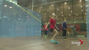 Canada Winter Games 2015: Glass squash courts