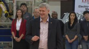 Harper announces millions to support Canadian exporters