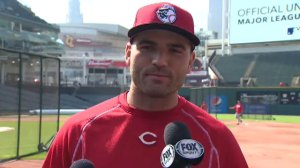 Toronto-born MLB star Joey Votto chats Toronto, the Raptors