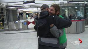 STM drops fine for Montreal man giving free hugs