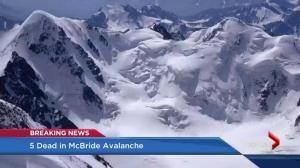 Deadly avalanche