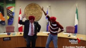 Whitehorse Mayor learns how to tie turban, Bhangra dance in viral video
