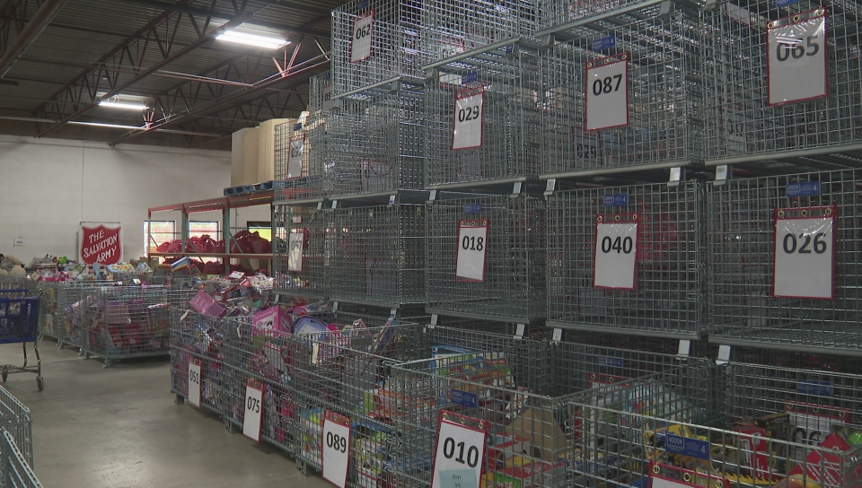 Salvation Army looking to catch up on donations goals
