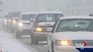 Alberta's capital slammed with snow