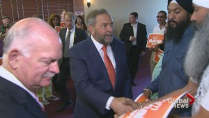 Thomas Mulcair's investiture