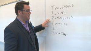 UBC Okanagan researcher calculates possibility of time travel
