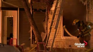 RAW: Two-alarm blaze in Falconridge