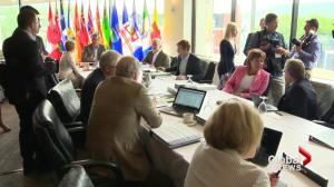 Pipeline talk causes friction among premiers at St. John's gathering
