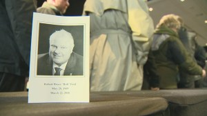 Hundreds gather to celebrate the life of Rob Ford