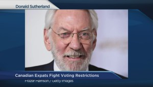 Canadian ex-pats fight voting restrictions