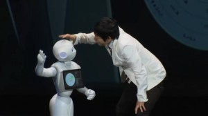 Japanese robot 'with a heart' can feel, react to different emotions