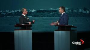 Saskatchewan's party leaders debate aboriginal employment