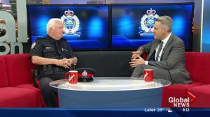 Edmonton's longest-serving police officer celebrates 45 years with the force