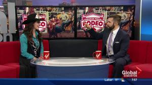Miss Rodeo Canada 2017 drops by Global News