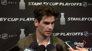 "'It sucks"": Sean Monahan on game three collapse"
