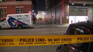 Raw Video: Body found near Broadview and Queen in Toronto