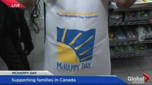 McHappy Day 2016 – Dave Squires Working the Drive Thru