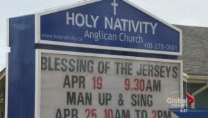 Flames fans get spiritual