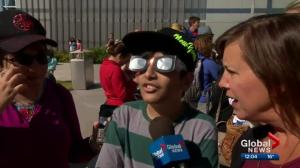 TELUS Spark celebrates solar eclipse with Eclipse Party