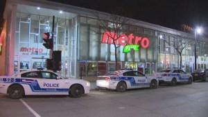 RAW: Metro store robbery
