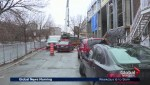 Saint-Henri street remains partly closed for construction