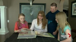 Heart transplants save Calgary mom and daughter 20 years apart