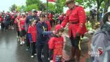 Charity run for RCMP families