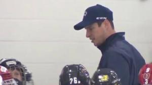 Crosby inspiring next generation of hockey players