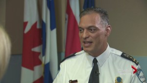 Police chief Philippe Pichet on budget cuts