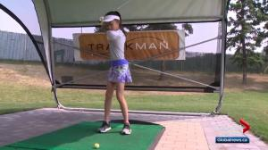Amazing 11-year-old Edmonton golfer heads to Toronto for skills challenge