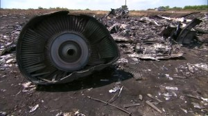 Ukraine says missile shrapnel hit Malaysia Flight MH17