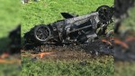 Former 'Top Gear' star Richard Hammond escapes serious injury after being in fiery car crash