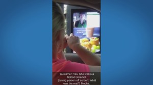 New technology allows Starbucks customer uses ASL to order at drive-thru