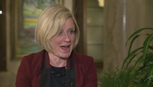 Rachel Notley responds to criticism about caucus