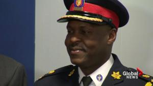 Toronto's new police chief makes history, faces challenges